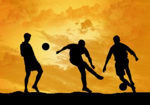 futebol como lazer