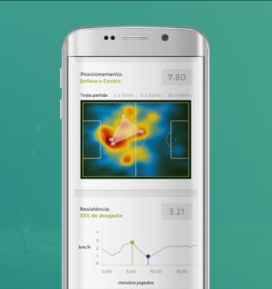 Mapa de Calor - Posicionamento - App de Futebol